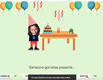 Birthday Webpage