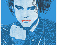 Robert Smith Screenprint