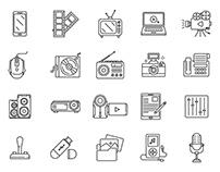 Multimedia Vector Icons