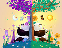 Kid Spa Austin Illustrations