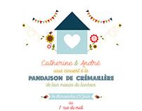 Invitation Crémaillère