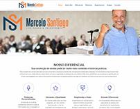 Reformulação do site MarceloSantiago.rio.br