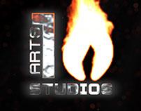 10 Arts Studios Branding