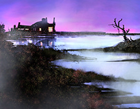 """Concept background """"The Lost House"""""""