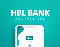 HBL BANK - Concept App/Case Study