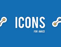 Icons for Amuzi