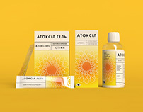 Atoxil packaging redesign