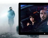 Blade Runner Landing Page