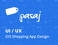 Pasaj - iOS Shopping App Design