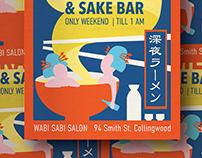 Wabi Sabi Salon Poster