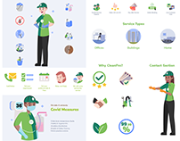 CleanPro | Illustrations & Motion