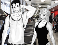 MAGIC MUSCLES: Gym adventures