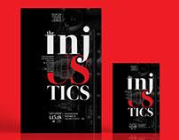 Injustics Debate Flyer Poster Template