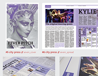 City Press Newspaper - Redesign