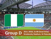 Soi kèo Nigeria vs Argentina