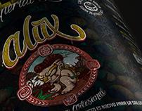 Etiquetas Cerveza Alux