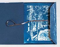 The Mine - Cyanotype book