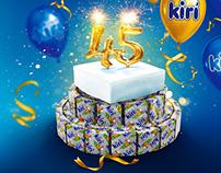 KIRI 45 ans