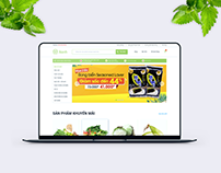 Xanh Shop Web Design - UX/UI