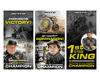 Nitto Tire Web Banners