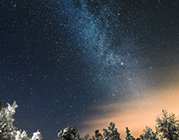 Lapland Night Sky