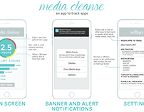 media cleanse - an app to track apps