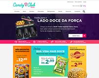 Candy Club Website