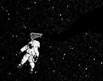 Wandering among the stars.