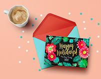 Lang family Christmas card