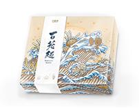 菇神 百菇麵 Mushrooms Noodles Package Design