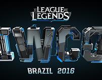 LEAGUE OF LEGENDS - IWCQ 2016