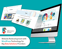 WordPress website for Big Data Solutions Providers