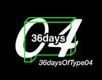 36 Days of Type 04