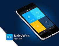 UnityWeb - Tech App