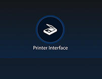 User research / Printer interface redesign