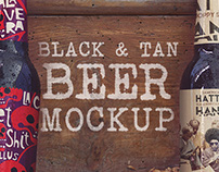 Black&Tan Beer Mockup