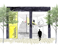 New concept for Vitra Showroom