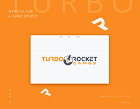Website Design for Turbo Rocket Games