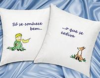 Ilustrações para almofadas