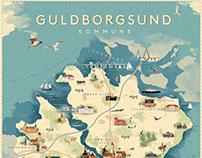 Guldborgsund Map