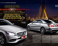 Teste Comparativo - Mercedes CLA 200 x C200