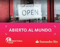 International Desk | Santander Río