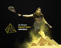 Al-Ahram Squash Open NEWGIZA 2016