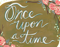 Lettering No. 3: Once Upon A Time