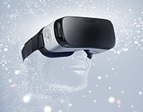 Visual design - Gear VR Brochure Cover
