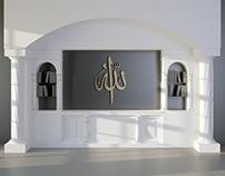 3D Model - Arabesque Modern Library