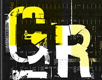 Grieta - Desplegable Tipográfico