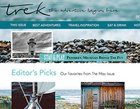 Trek Magazine Web Page