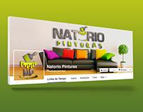 Capa Facebook | Natório Pinturas