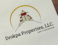 Drokpa Properties LLC | Logo & Stationary Design